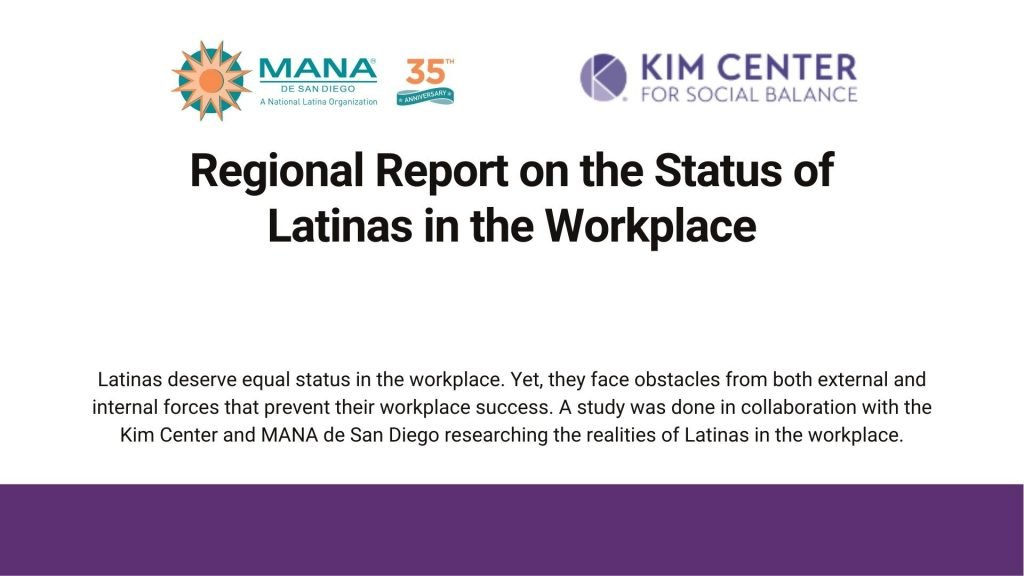 Regional Report on the Status of Latinas in the Workplace